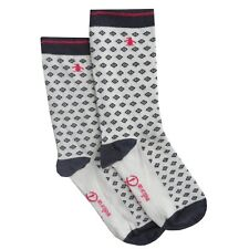 8b91c9eae11bf ORIGINAL PENGUIN Womens Blue White Pattern Socks > One Size UK 4-8 EU 37