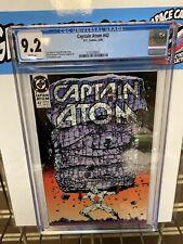 Captain Atom #42 Cgc 9.2 1st Death From Sandman In DCU Comic Book