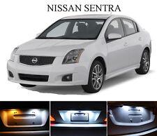 Xenon White License Plate / Tag 168 194 LED light bulbs for Nissan Sentra (2Pcs)