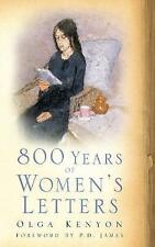 800 Years of Womans Letters