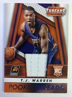 2014-15 Panini Rookie Threads TJ Warren RC #11, Pacers, Suns, Insert