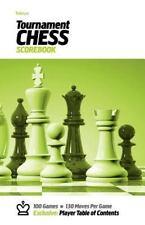 Tabiya Tournament Chess Scorebook : Cover Style (2012, Paperback)