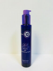 ITS IT'S A 10 SILK EXPRESS MIRACLE SILK SMOOTHING BALM - 5oz NEW!!