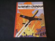 EDGAR P. JACOBS LE SECRET DE L' ESPADON T1 LA POURSUITE FANTASTIQUE 1957