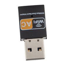Mini Wifi Wireless LAN Internet Adapter Dongle USB 600Mbps 5G Laptop Network
