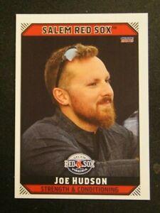 2019 Choice, Salem Red Sox, Strength & Conditioning - JOE HUDSON