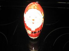Vintage Wooden Nesting Stackable Santa'S Set Of 2~Fast Shipping!