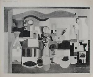 The Corbusier: Cubism, Still Life The Many Objects - Engraving Signed - 1938
