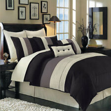 Sleek Black 12pc Hudson Bed in a Bag