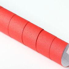 5x DIN A4 Wrapping Folie Diamant Glitzer Rot 21cm x 29,7cm Folie Luftkanälen