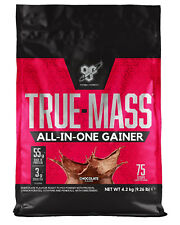 BSN True Mass 4.2kg All in One Whey Protein Powder Heavy Mass Gainer Chocolate