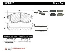 Disc Brake Pad Set Front Centric 102.08151