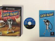Chibi-Robo Nintendo GameCube CIB Complete Game Cube TESTED WORKING