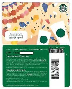 Geschenkkarte Starbucks Card Poland Polen Geburtstag Birthday Celebration -0731-