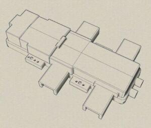 O gauge model railway point machines HW 1000 type 3D printed