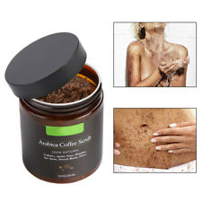 100% Arabica Coffee Bath Salt Body Scrub Exfoliating Reduce Cellulite Acne