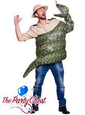 ADULT SNAKE COSTUME Jungle Explorer Snake Boa Constrictor Fancy Dress Outfit 634