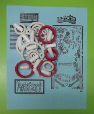2002 Stern Roller Coaster Tycoon pinball rubber ring kit
