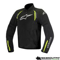 ALPINESTARS Motorradjacke AST AIR Textil Jacke schwarz gelb Protektoren Gr. L
