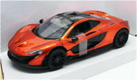 Motor Max 1/24 Scale Model Car 79325OR - McLaren P1 - Volcano Orange