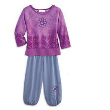 American Girl Doll Chrissa's PAJAMAS for GIRLS medium M 10 12 top pants SET