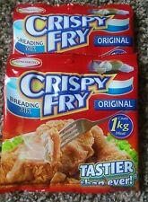 3 pack of Ajinomoto Crispy Fry Breading Mix Original Flavor (2019 )