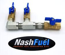 "1/2"" PIPE LOW PRESSURE PROPANE NATURAL GAS MANIFOLD NPT THREAD LPG BALL VALVE"