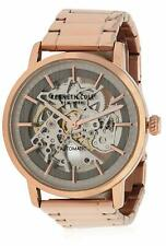 Kenneth Cole Automatic 20 Jewels Skeleton Rose Gold Men's Watch KC50683006 SD