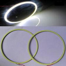 1x White 160mm Led COB Angel Eyes Halo Ring Light For Car Headlight Lens DRL 12V
