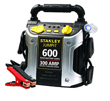 Battery Jump Starter Portable Box Stanley Booster Car Auto Electric Charger Unit