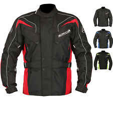 Buffalo Hurricane Motorcycle Jacket Textile Touring Waterproof Thermal Vented CE