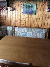 Schöne Essecke U003d Truhen Eckbank Mit Ausziehbarem Tisch Und 5 Stühlen
