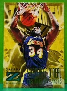 Shaquille O'Neal subset card Zupermen 1996-97 Skybox Z-Force #187