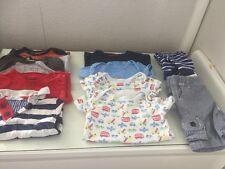 Bebé Niño Paquete 12-18 John Lewis/George/Etc Verano/Tapas/Pantalones Cortos/