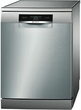 Bosch Series 8 Freestanding Dishwasher, Stainless Steel (SMS88TI01A)