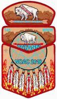 OA TATANKA LODGE 141 BSA BUFFALO TRAIL FLAP CSP 2018 NOAC 3-PATCH ONLY 50 MADE!!