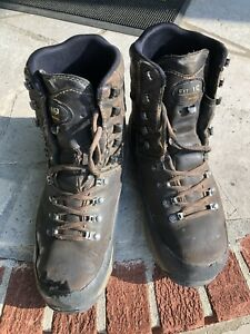 Cabelas Meindl boots Used Size 9.5 Wide Mens Brown with Laces