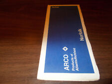 1971 Arco Norfolk Vintage Road Map