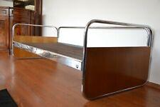 ORIGINAL Mücke & Melder Couch Art Déco 1930er Daybed Stahlrohr Sofa Bauhaus