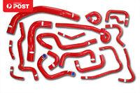 Silicone Radiator Hose Kit for Nissan Skyline ECR33 R33 GTS-25T RB25DET Red