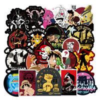 100PCS One Piece Stickers Skateboard Sticker Graffiti Laptop Car Luggage Decals
