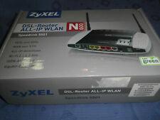 NO. 0224  ZyXEL Speedlink 5501 WLAN Router mit Modem