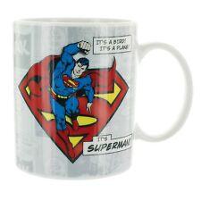 Superman Coffee Mug DC Comics Classic Vintage NEW IN BOX 10 oz