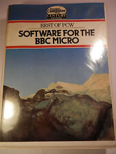 BEST OF PCW SOFTWARE FOR THE BBC Micro Computer Model B Tape Cassette Game