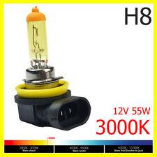 Ampoule Lampe Halogene Feu Phare XENON GAZ Jaune Yellow H8 55W 3000K 12V - 1PC