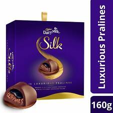 Cadbury Dairy Milk Silk Pralines Chocolate Gift Box- 160 gm Gift Pack