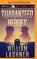Guaranteed Heroes, William Lashner, 2015 MP3 CD Unabridged Audio Book Free Ship!