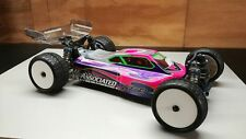 LeadFinger Racing A2 Tactic Clear Body and Wing Combo) AE B64D 1/10 4wd Buggy