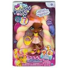 "SpinMaster Candylocks, Deluxe 7"" Lacey Lemonade Scented Sugar Style Collectib."