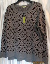 "NICE! *GIANNI BINI*  ""Razzle Dazzle""  Wool/Acrylic/Nylon Lg Sleeve Sweater,Med"